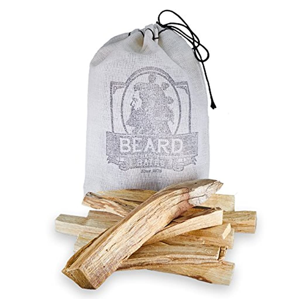 うぬぼれベスビオ山かるBeard & Bates | Palo Santo – Extra Large、Handcut、Sustainably Wild Harvested Incense Sticks for瞑想、クレンジング、Stress...