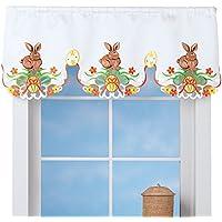 イースターWindow Valance Decoration with Bunnies and Eggs