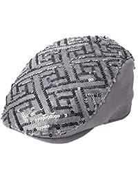 ms.春夏キャップ/スパンコールPainter Cap / Sunファッションベレー帽