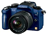 パナソニック デジタル一眼カメラ G2レンズキット(14-42mm/F3.5-5.6付属) コンフォートブルー DMC-G2K-A