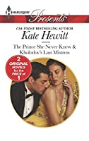 The Prince She Never Knew (Harlequin Presents\The Diomedi Heirs)