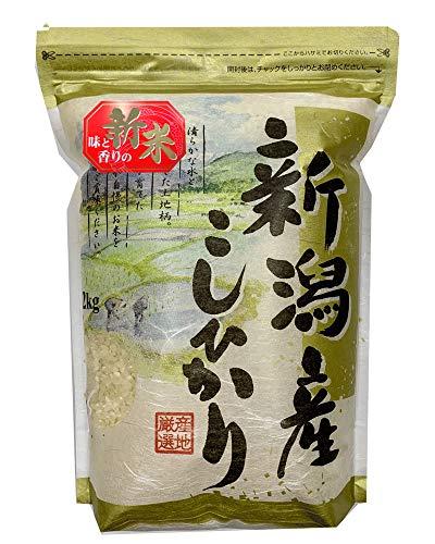 新潟県産 白米 コシヒカリ 2kg 令和1年産 【こしひかり お米】