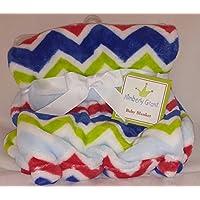 Bright Chevron Baby Blanket By Kimberly Grant by Kimberly Grant