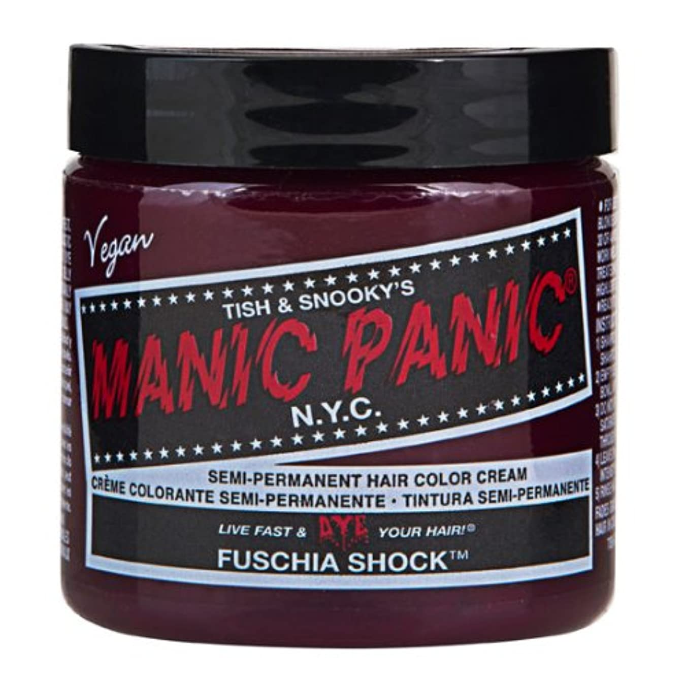 挽く政治家寄託スペシャルセットMANIC PANICマニックパニック:Fuschia Shock (フューシャ?ショック)+ヘアカラーケア4点セット