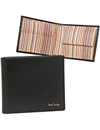 [ポールスミス]折財布 メンズ PAUL SMITH 4833-AMULTI 79 ブラック マルチカラー [並行輸入品]