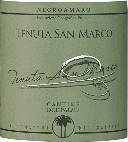 テヌーテ・サン・マルコ ロッソ サレント ネグロアマーロ 750ml [イタリア/赤ワイン/辛口/ミディアムボディ/1本]