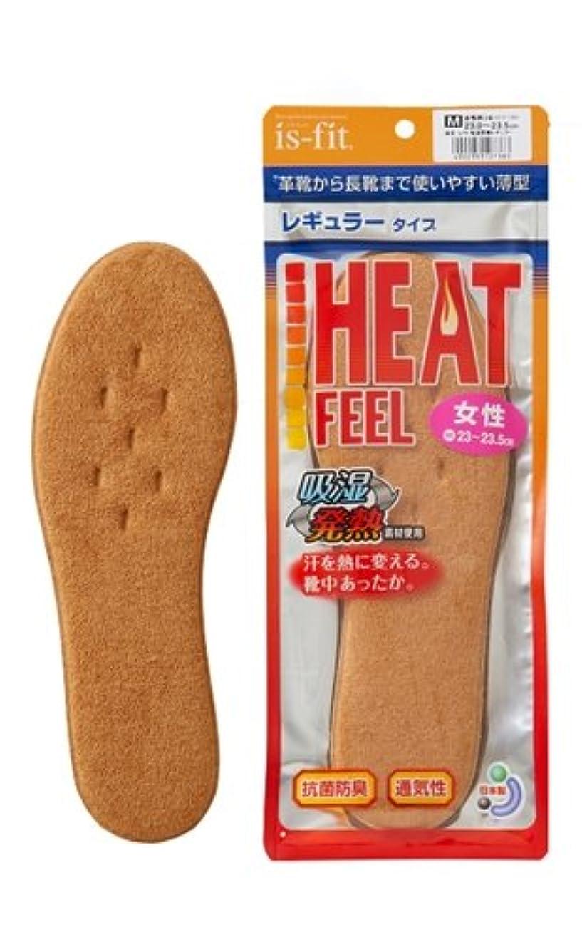 リップ四回可動式is-fit(イズフィット) 吸湿発熱 レギュラータイプ インソール 女性用 S