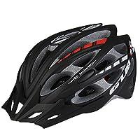k-outdoor ヘルメット自転車 穴付き 通気 高剛性 EPU 57-61cm サイズ調整可能 耐衝撃 通気 軽量 サイクリング