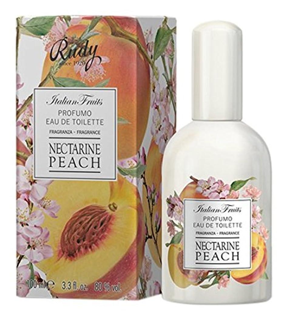 ささやきフォーカス兵士RUDY Italian Fruits Series ルディ イタリアンフルーツ Eau De Toilette オードトワレ Nectarine Peach