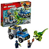 LEGO Juniors Raptor Rescue Truck 10757 Building Kit 85 pieces