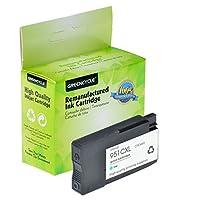 Greencycle高イールドリサイクルインクカートリッジ951X L 951XL cn046an使用with Officejet Pro 86008100863086408660251dw 271dw 276dw 251dw 276dw 271dwプリンタ(シアン、1パック)