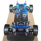 合金・ カーボン 製 タミヤ TT-01  TT-01E フレーム キット  シャフト ドライブ 1/10 4WDツーリングカーフレーム キット