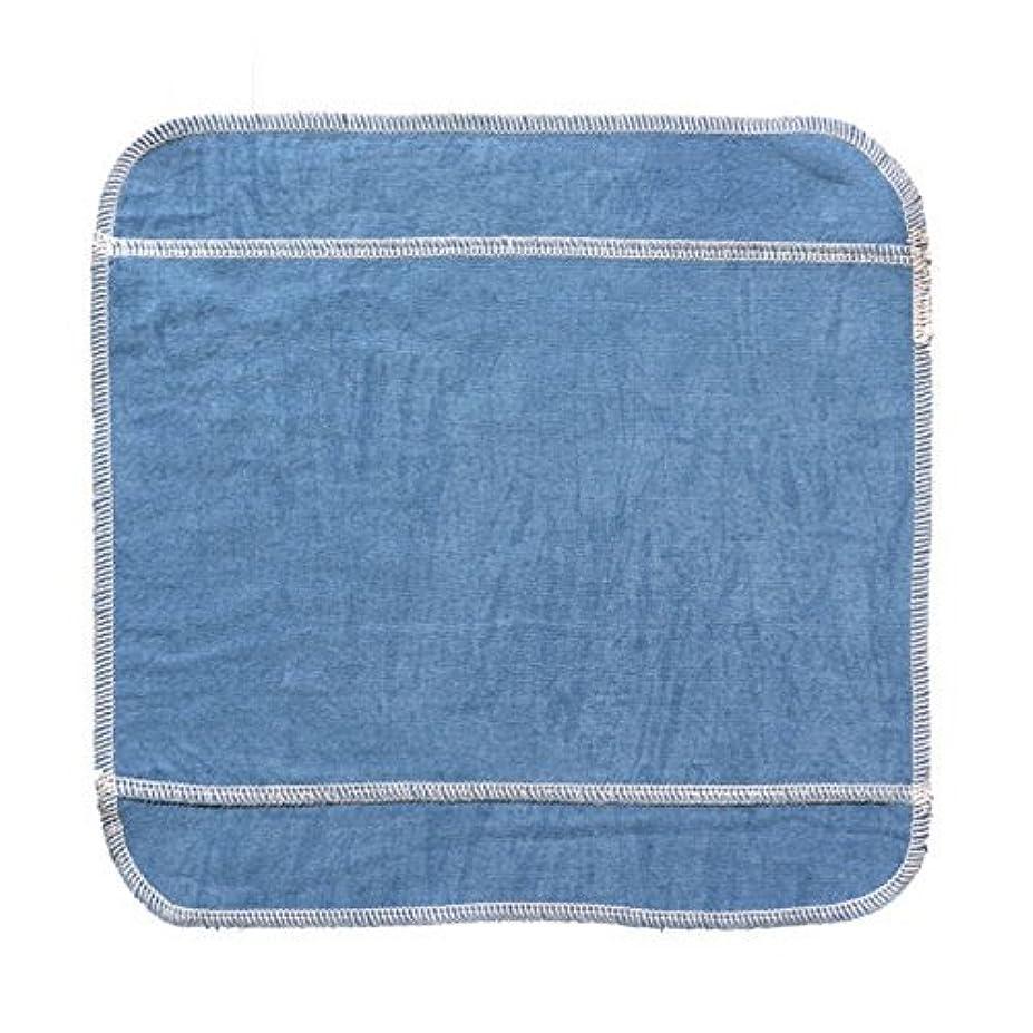 フェッチ思いつく残酷な藍染め 布ナプキン ハンカチタイプL(多い日用、夜用)