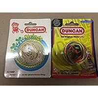 Duncan Yo-Yo String 2 Pack White & Multicolored [Floral] [並行輸入品]