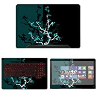 decalrus Protective Decal Skin Sticker for Asus TUF Gaming Laptop FX504 (15.6 Screen) case cover wrap AStuf15_Fx504-58