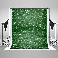 ケイトBack to School Backdrop写真背景5× 7ft黒板ブラックボード教室テーマコットンシームレスな学生用フォトBackdrops StudioブースShooting