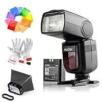 Godox VING v860iis 2.4G gn60TTL HSS 1/ 8000sリチウムイオン電池カメラフラッシュSpeedlite for Sony DSLRカメラ–1.5sリサイクルタイム650フルパワーPopsサポートTTL / M /マルチ/ s1/ s2