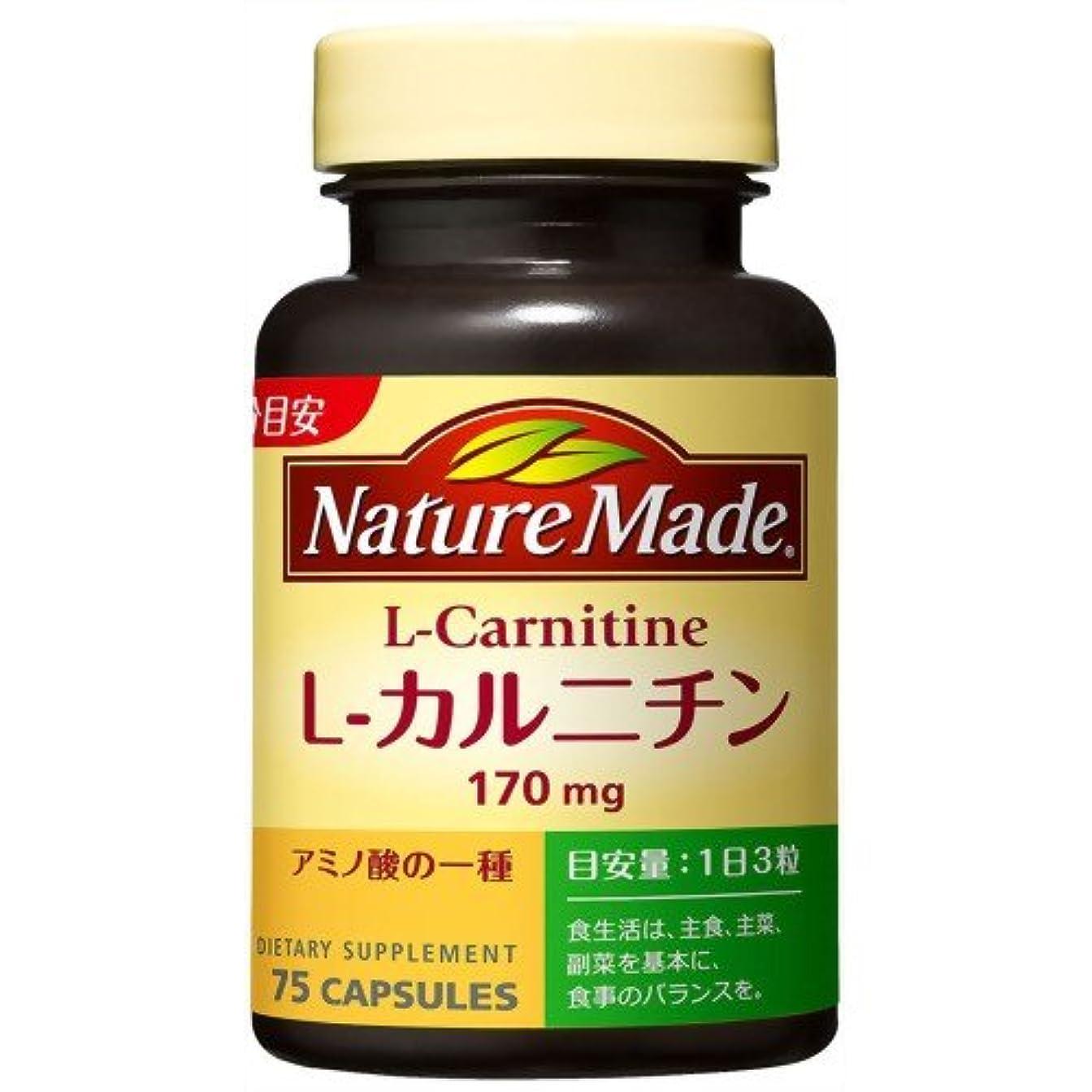 促進するドナウ川アドバンテージネイチャーメイド L-カルニチン 75粒