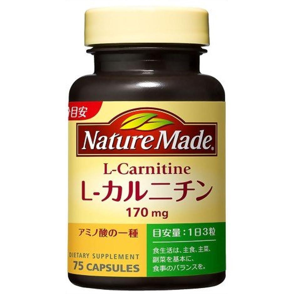 取得処理拡散するネイチャーメイド L-カルニチン 75粒