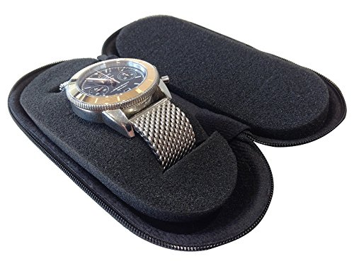 ドイツ Beco社 軽量プラスチック製 時計1本用 時計ケースウォッチケース 優美堂の【画像の腕時計はイメージ用で品物に含まれません】