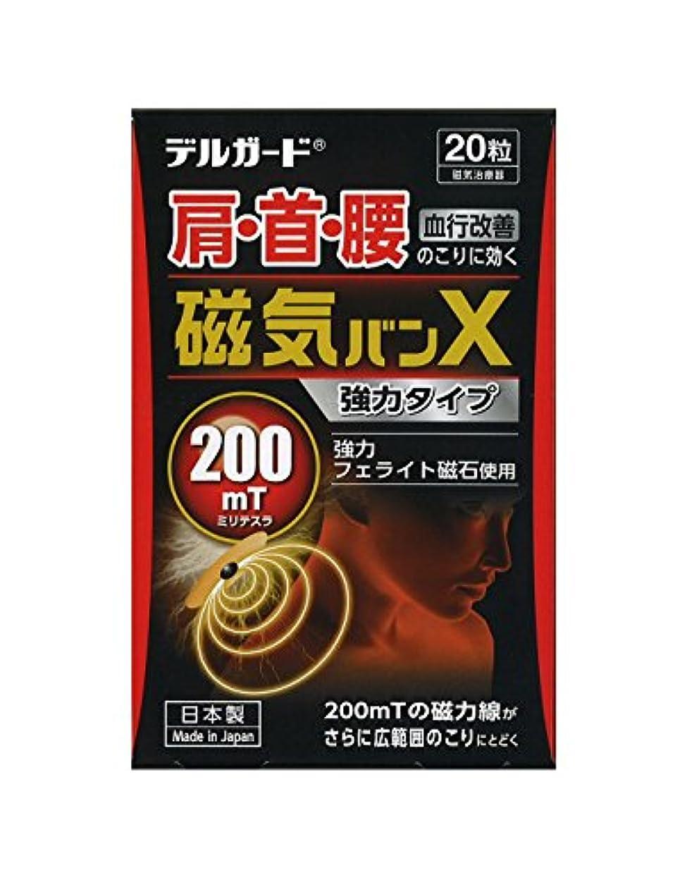 怒りリーン動的阿蘇製薬 デルガード 磁気絆X 20粒