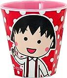 藤本電業 ちびまる子ちゃん メラミンカップ ドット・赤 MC-N02