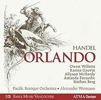ヘンデル : 歌劇「オルランド」全曲 (Handel : Orlando)