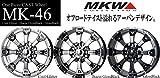 MKW MK-46 ダイヤカット グロスブラック BF グッドリッチ ALL-Terrain T/A KO2 265/75R16 サマータイヤ & ホイール 4本セット