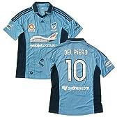 2012-13 シドニーFC ホーム半袖 ユニフォーム #10 DEL PIERO (インポートL)