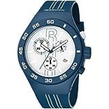 リーボック Reebok Icon Rush Chrono Men's Sport Watch Midnight Blue and White RC-IRU-G6-PLIL-WL 男性 メンズ 腕時計 【並行輸入品】