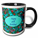 3dローズEdmond Hogge Jr誕生日–Wildブルー50th誕生日デザイン–マグカップ 11 oz ホワイト mug_39540_4