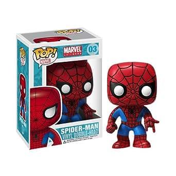 POP! マーベル・コミック スパイダーマン 高さ約90mm プラスチック製 塗装済み完成品フィギュア