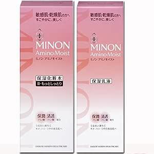 【人気セット】ミノン アミノモイスト モイストチャージ ミルク100g+ローションII もっとしっとりタイプ 150mLセット (4987107616524+4987107616395)
