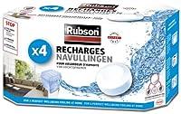 Rubson 1852170空気除湿器4詰め替えホワイト