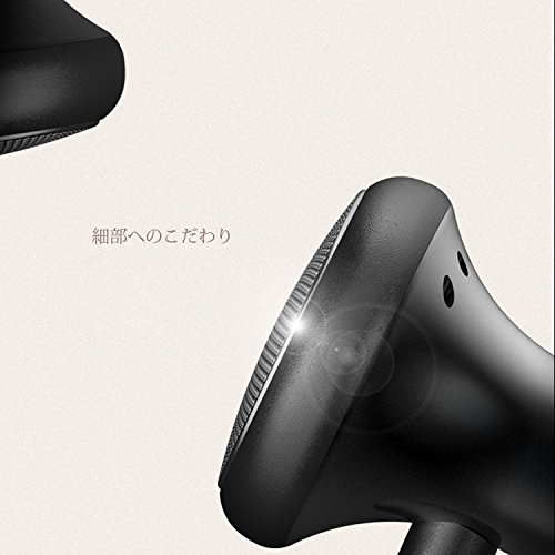 CollectionAudio インナーイヤー型 14.8mmドライバ 通話 音楽 楽々 マイク 付き ブラック VJJB-C1s