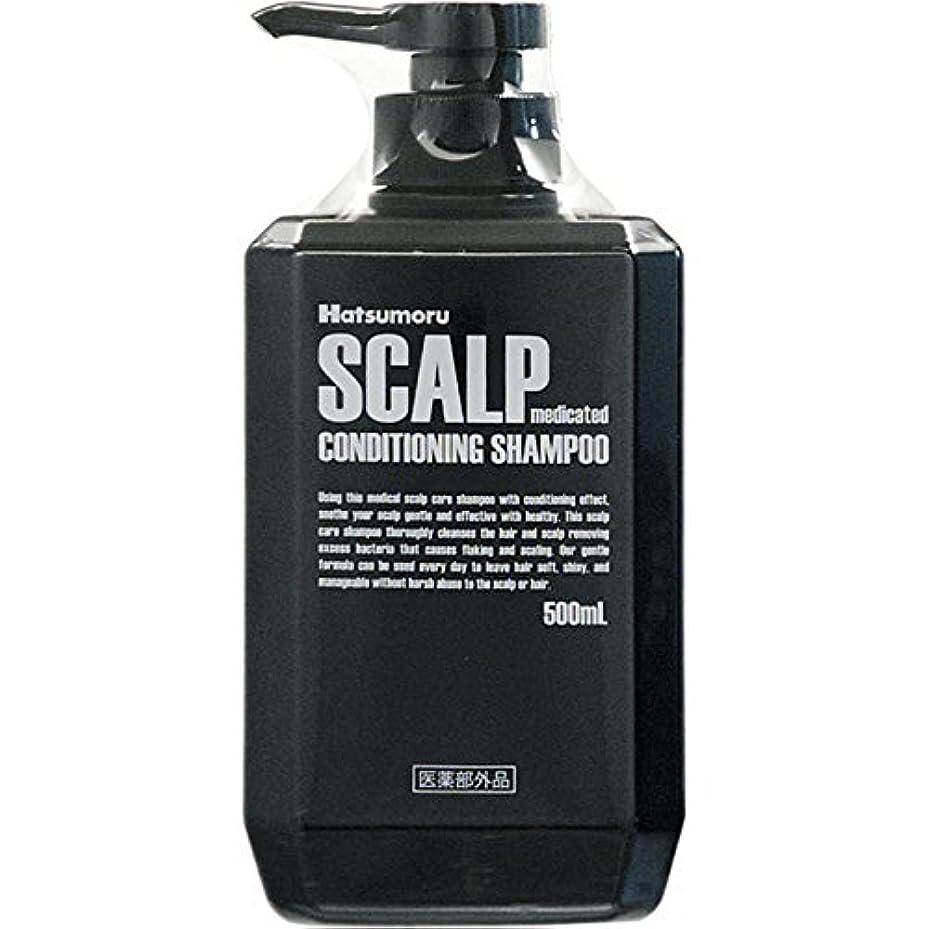 監査中級スカリーハツモール 薬用スカルプシャンプー500MLx5