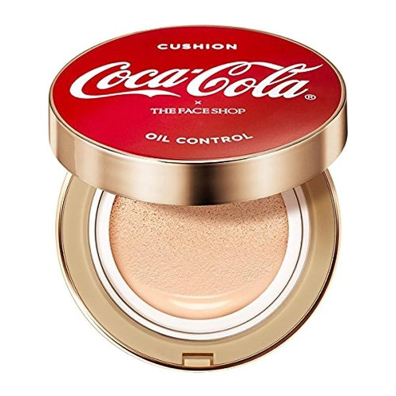 生産的会社ブリーフケースコカ?コーラ×THE FACE SHOP コットンフィット ウォータークッション ~ コカ?コーラ公式グッズ V201 Apricot Beige