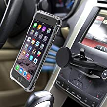 Magnetic CD Slot Car Phone Mount,MANORDS Universal Cell Phone Holder 360°Rotation GPS Mount Compatible iPhone XS/X/8/8Plus/7Plus/Samsung Galaxy S9/S8/S7and More