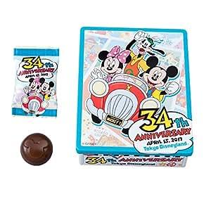 ディズニー ランド 34周年 2017 チョコレート ミッキー ミニー グーフィー お菓子 ( ランド限定 グッズ お土産 )