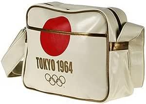 ■東京オリンピック (1964) レトロデザイン 肩掛けカバン (サチェル) ■Olympic Games - Tokyo 1964 Retro Designed Satchel ■ハーフムーン社製 オフィシャル製品 ■Officially licensed merchandise from Half Moon Bay