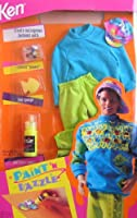 Barbie KEN Paint 'N Dazzle Fashion Set (1993)
