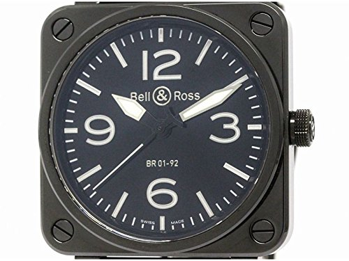 [ベル&ロス]Bell&Rossベル&ロス セラミック ラバー 自動巻き メンズ 時計BR01-92(BF101114)[中古]