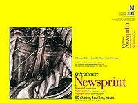 "Strathmore Rough Newsprint Paper Pad 18""X24""-32lb 50 Sheets (並行輸入品)"