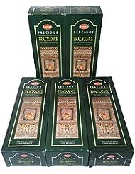 HEM プレシャスフレグランス香 スティック 5BOX(30箱)/HEM FRAGRANCE/ インド香 / 送料無料 [並行輸入品]