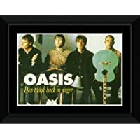 Oasis - Don't Look Back In Anger Framed and Mounted Print - 14.7x10.2cm