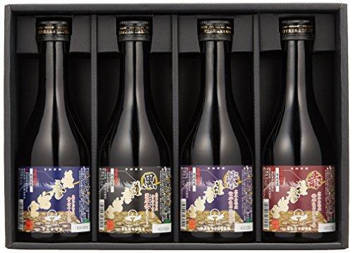 薩摩富士 飲み比べセット [ 焼酎 25度 鹿児島県 300mlx4本 ] [ギフトBox入り]