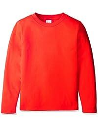 [プリントスター] 長袖 5.6オンス ロングスリーブ Tシャツ(リブ無) 00101-LVC キッズ
