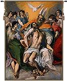 ホーム家具、El Greco、ベルギータペストリー壁吊り、壁アート装飾、37by 50インチ H 142.00 x W 100.00 04.03.01
