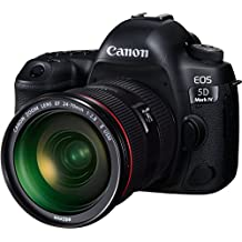 Canon EOS 5D Mark IV Professional Kit with EF 24-70mm f 2.8L II USM Digital Camera - SLR(5DIVPROK) 3.2Inch Display,Black (Australian warranty)