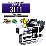 カラークリエーション 互換インク ブラザー LC3111BK 対応 ブラック CC-BLC3111NBK